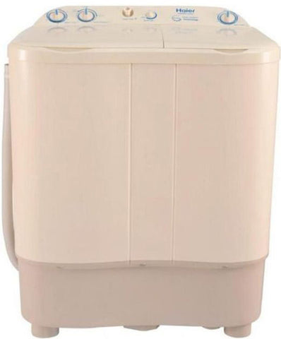 Haier - Semi Automatic Washing Machine HWM80000 - Beige