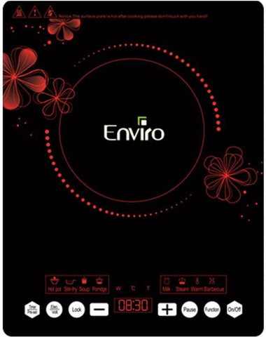 Enviro - Digital Induction Cooker - ENRIC 214A - Black