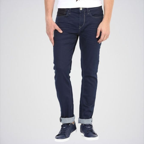Ajmery Enterprise - Men's Benetton Skinny Fit Jeans - Pr-15 - Blue
