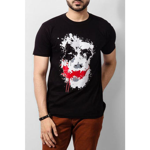 The Ajmery - Joker T-shirt - Black