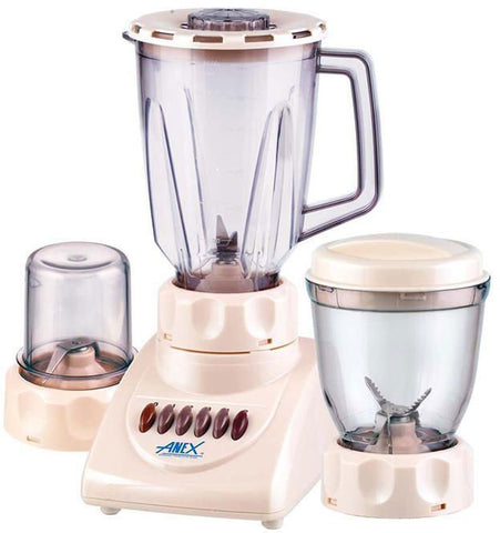 Anex Blender With Grinder - 2 In 1 - AG-699 - White