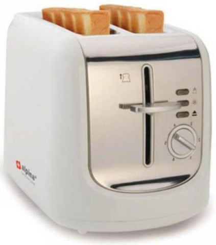 ALPINA - 2 Slice Cool Touch Toaster - 1000W - SF-2601 - White