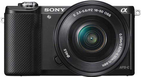 Sony - DSLR - ILCE-5000L - Black