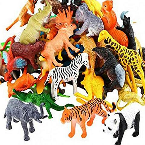 Wild Animal Jungle Toys For Kids - Multicolor