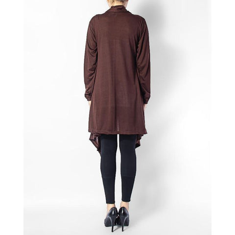 Ajmery Enterprise - Cotton Shrug - Brown
