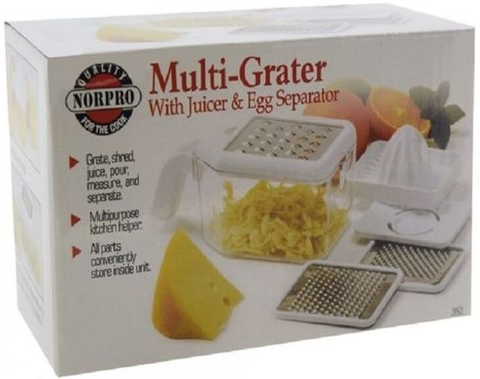 Apna Electronic - Multi Grater Juicer - White