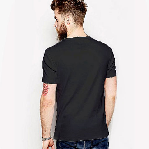 What Ever - Round neck T-shirt for Men - Grey