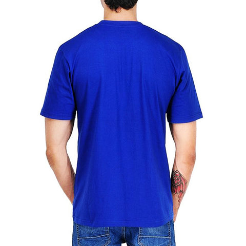 The Ajmery - Lion Printed T-shirt For Men - Royal Blue