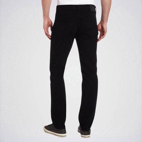 Ajmery Enterprise - Men's Slim Fit Jeans - Aj-Bl02 - Pure Black