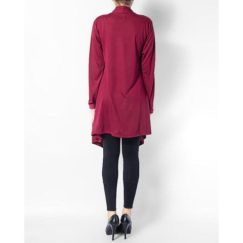 Ajmery Enterprise - Cotton Shrug - Maroon