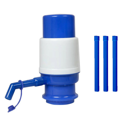 E4U - Manual Water Pump Dispenser For Water Cans - Blue