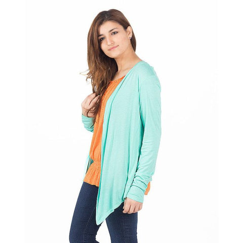 Ajmery Enterprise - Viscose Cocktail Shrug For Women - KTY-121 - Sea Green