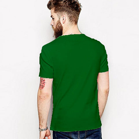Things To Do Round Neck T-Shirt - Green