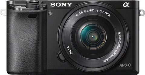 Sony - DSLR - ILCE-6000L - Black