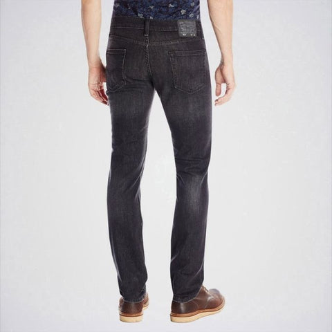 The Ajmery - Men's Slim Fit Jeans - Blackish Grey