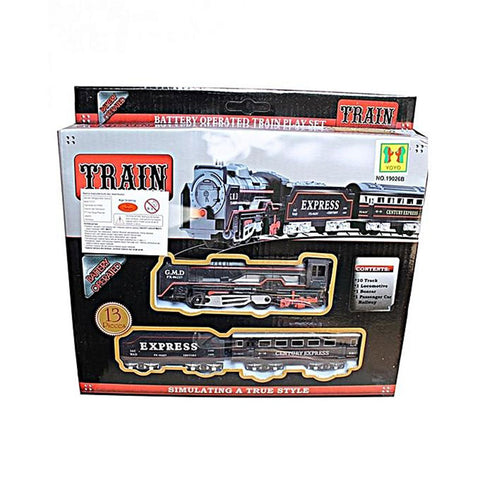 Battery Operated Train Toy - Black
