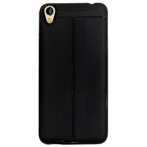 The Speed Grade - Pack of 2 - Infinix Smart X5010 Soft Back Cover T Design  Black Case and Transparent Tempered Glass