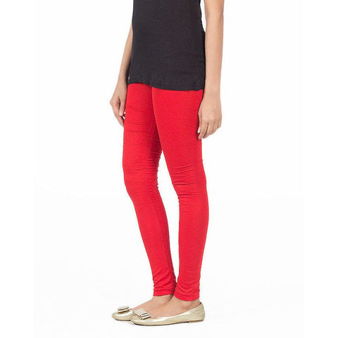 Ajmery Enterprise - Viscose Churidaar Tights For Women - KTY-124 - Red
