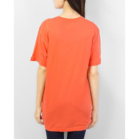Ajmery Enterprise - Cotton Crew Neck T-Shirt - Orange
