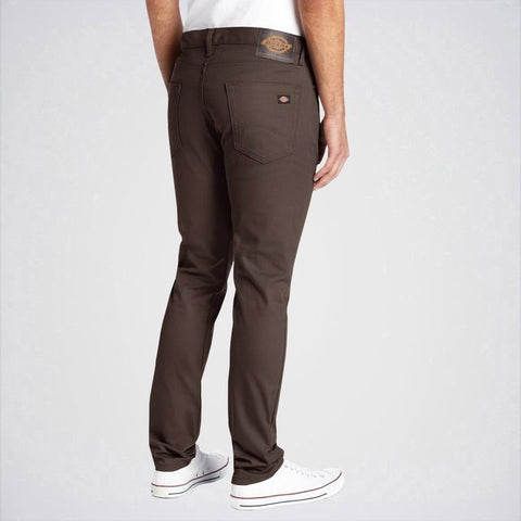 Ajmery Enterprise - Men's Skinny Fit Stretch Twill Jeans - Aj-Db47 - Dark Brown