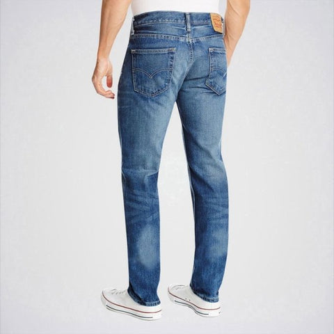 Ajmery Enterprise - Men's Shaded Slim Fit Jeans - Aj-Bl12 - Blue