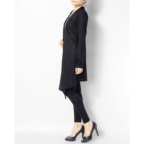 Ajmery Enterprise - Cotton Shrug - Black