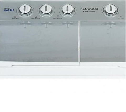 Kenwood - Semi Automatic Washing and Dryer Machine 10kg KWM1012 - White