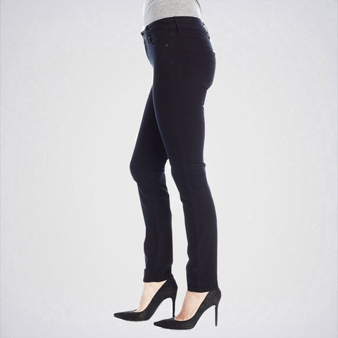 The Ajmery - Women's Stylish Skinny Jeans - Black