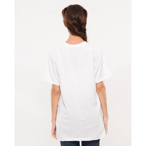 Ajmery Enterprises - Women's Short Sleeve Solid T-Shirt - KTY-C279 - White