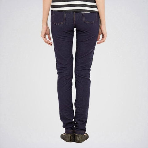The Ajmery - Women's Skinny Jeans - Navy Blue