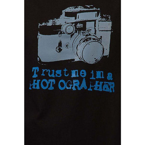 The Ajmery - Cotton Photographer Graphics T-shirt - Black