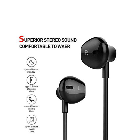 S6 Bluetooth Sport Wireless Earphones Earbuds With Mic For Samsung S7,S8,S9  - Multicolor