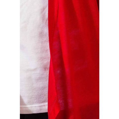 Ajmery Enterprise - Long Cotton Shrug - Red