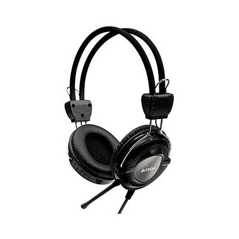 A4Tech - Wired Over the Ear Headphone - A4TECH HS-19 - Black