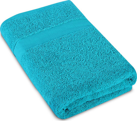 Utopia Towels - Pack of 2 Luxury Cotton Bath Towels - Blue and Sky Blue