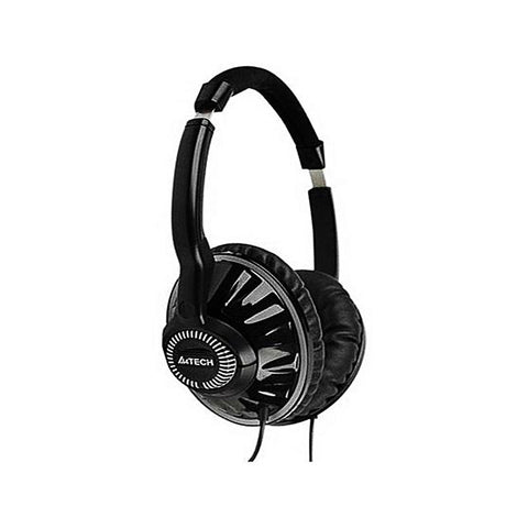 A4Tech - Wired Over the Ear Headphones - A4TECH HS-780 - Black