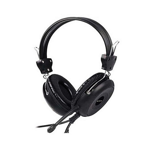 A4Tech - Wired Over the Ear Headphones - A4TECH HS-30 - Black