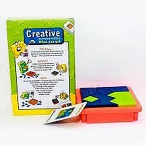 Creative And Mind Pattern Puzzle - Multicolor