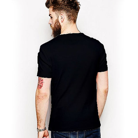 Things To Do Round Neck T-Shirt - Black