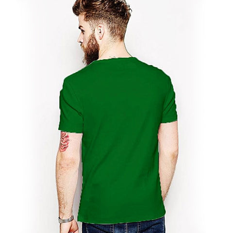 You Only Live Once - Round neck T-shirt for Men - Green