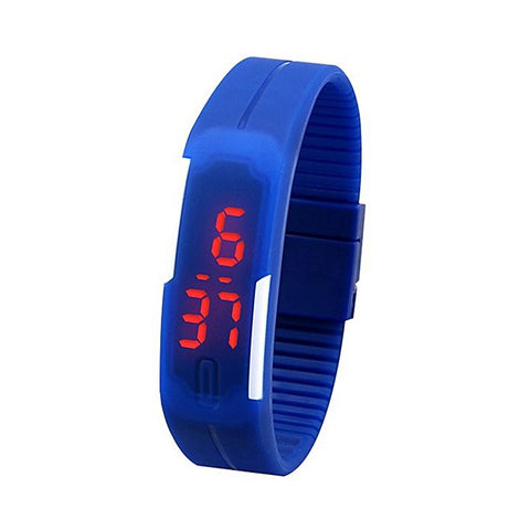 Pack of 2 - Sports LED Watch For Boys & Girls - Multicolour