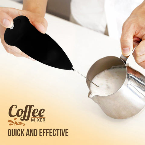 Handheld Coffee Beater Mixer & Whisker - Multicolor