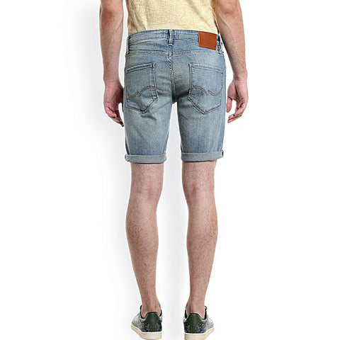 Denim Shorts For Men - Light Blue