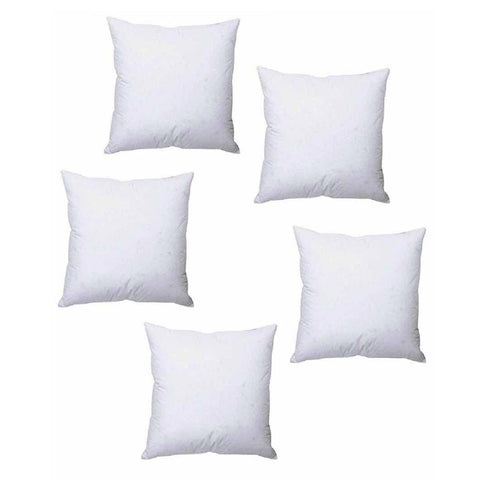 Pack of 5 - Polyester Cushion - White