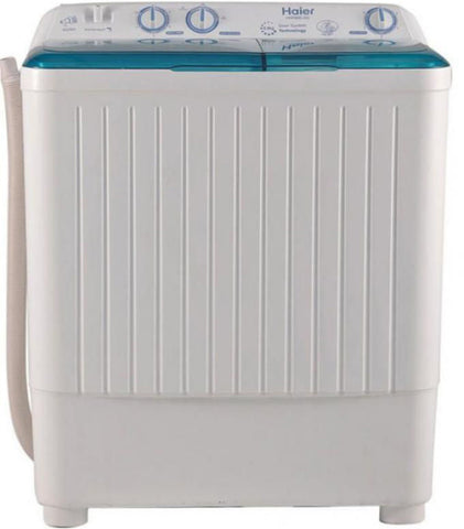 Haier - Top Loading SemiAutomatic Washing Machine 8 KG HWM80AS - White