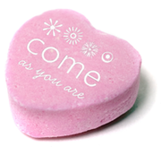 Come As You Are Valentine's Logo