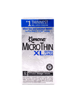 Kimono Microthin XL Condoms 12 Pack