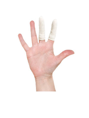 Latex Finger Cots - Box of 144