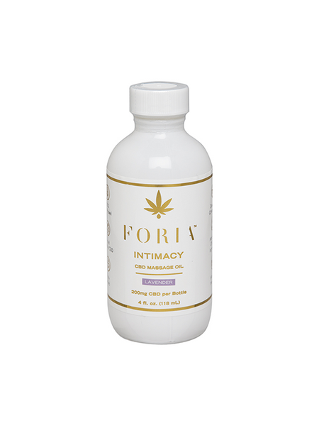 Foria Intimacy CBD Massage Oil 4oz