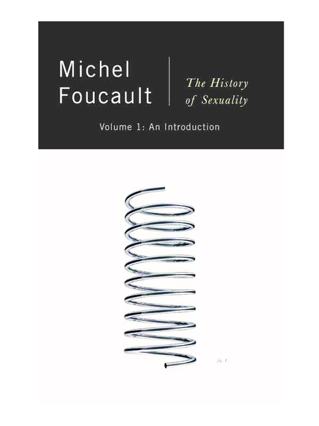 History of Sexuality, Vol. 1, Foucault
